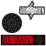 Soundgarden 3 Sticker Pack