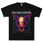 Soundgarden Skull Glow T-Shirt