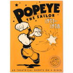 Popeye the Sailor: 1933-1938, Vol. 1 DVD