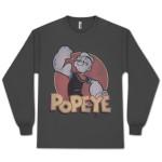 Popeye Retro Ringer T-shirt
