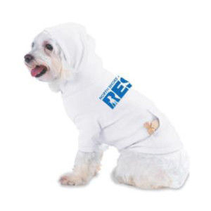 White North Shore Animal League RESCUE Dog Hoodie
