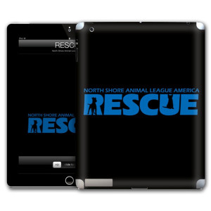 North Shore Animal League Black Rescue iPad Skin