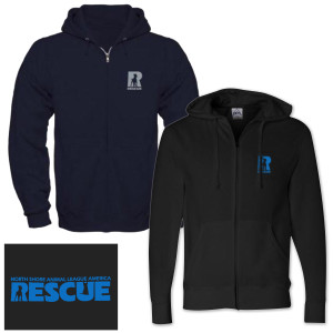 North Shore Animal League Rescue Full Zip Hoodie