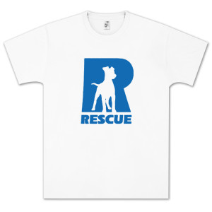 North Shore Animal League Rescue R Logo T-Shirt