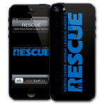 North Shore Animal League Rescue Black iPhone 5 Skin