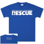 Blue North Shore Animal League Rescue T-shirt