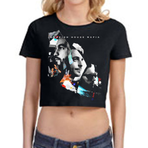 SHM Leave The World Behind Girls Crop Top