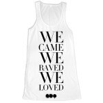 Swedish House Mafia We Came Girlie Tank