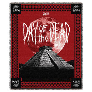 HARD Day of the Dead Blanket
