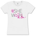 Tamar #Shewon Girlie T-Shirt