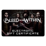 Bleed From Within Electronic Gift Certificate