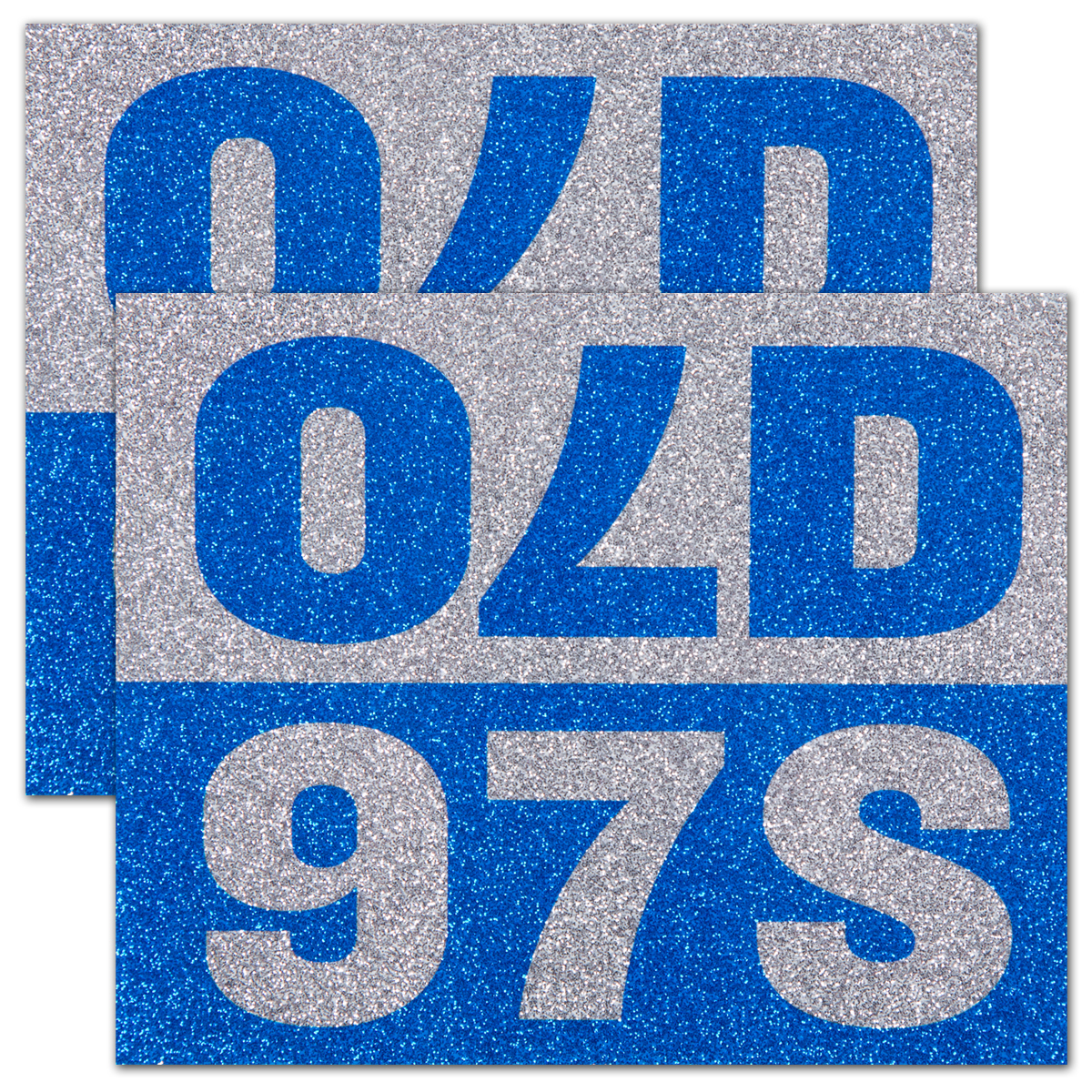 Old 97s - Sparkle Sticker (Pack of 2)