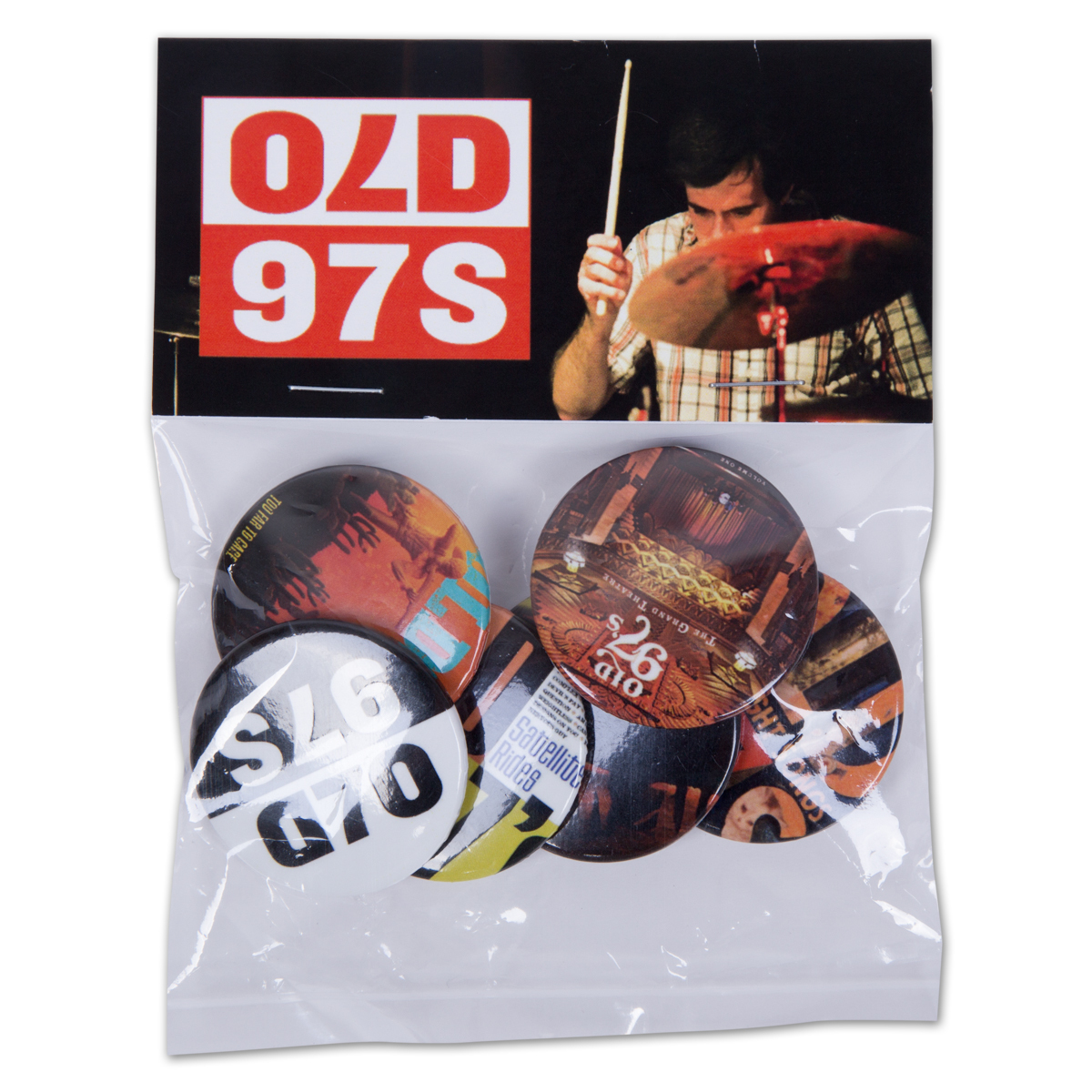 Old 97's Button Pack - Series 2