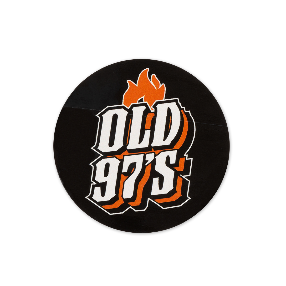 Old 97's Flame Logo Sticker