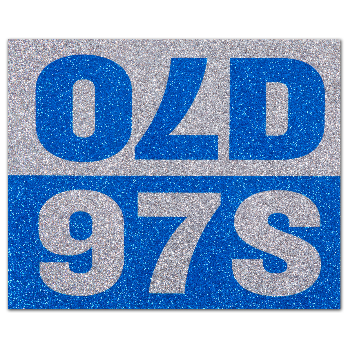 Old 97s Sparkle Sticker -- Small