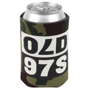 Old 97's Mirror Koozie in Camo