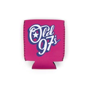 Old 97's Script Koozie - Pink