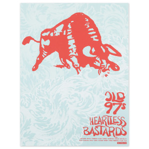 Old 97s + Heartless Bastards Poster