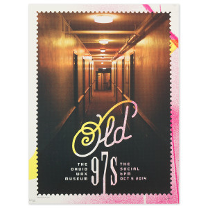 Old 97s + David Wax Museum - 10/5/2014 Poster