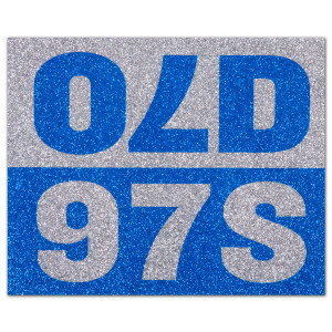 Old 97s - Sparkle Sticker