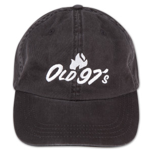 Old 97s Flame Hat - Black