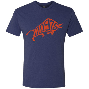 Men's Bull Logo T