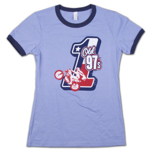 Old 97's Evel Ladies Ringer T-Shirt