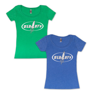 Old 97s Rocket Women's Scoop T-Shirt