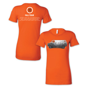 Old 97s 2015 Fall Tour Women's T-Shirt Orange