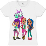 OMG GIRLZ Illustration Babydoll T-Shirt