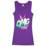 OMG GIRLZ Purple Tank Top