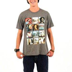 Bob Marley Block Images  Men's T Shirt