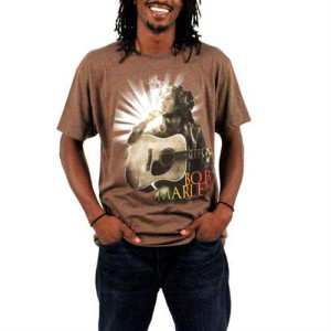 Bob Marley Starburst Guitar