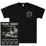 Frank Turner Bones Tour T-Shirt