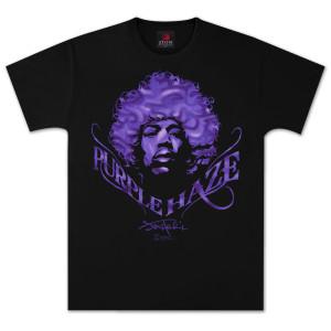 Jimi Hendrix Purple Haze Signature T-Shirt