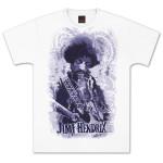 Jimi Hendrix Guitar Jumbo T-Shirt