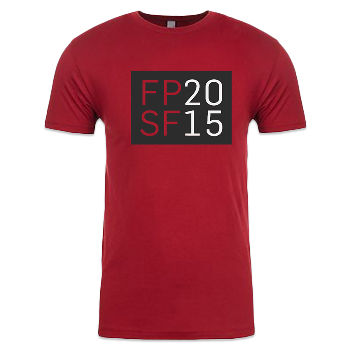 FPSF 2015 Unisex Lineup T-Shirt  (Red)