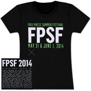 FPSF 2014 Ladies' Main Event  T-Shirt