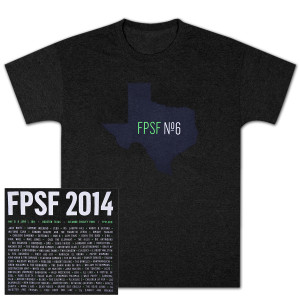 FPSF 2014 Unisex Texas State T-Shirt