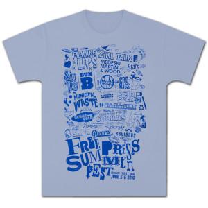 FPSF 2011 Lineup T-Shirt