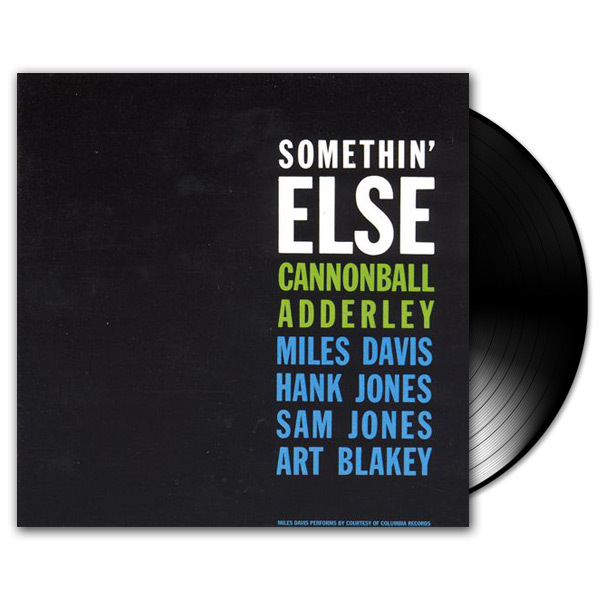 Cannonball Adderley - Somethin' Else LP