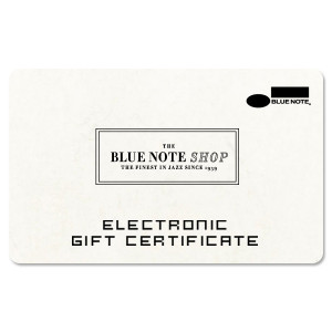 Blue Note Electronic Gift Certificate