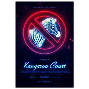 Capital Cities Kangaroo Court Poster 24X36""