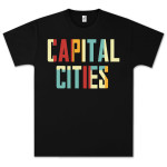 Capital Cities Block Letter T-Shirt