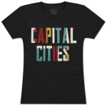 Capital Cities Logo Babydoll T-Shirt