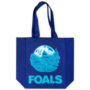 Foals Blue Moon Tote Bag