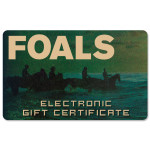 Foals Electronic Gift Certificate