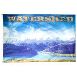 Watershed Festival  4x6ft  Flag