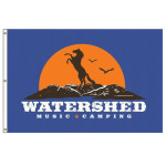 """Watershed 48 x 72"""" Flag #1"""