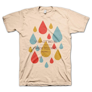 Cassadee Pope Wasting All These Tears T-Shirt